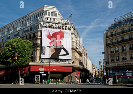Galeries Lafayette Paris France Fashion Trendy - Stock Photo