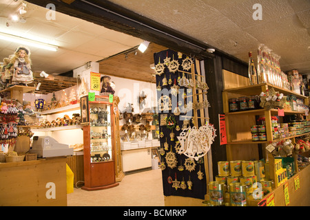 Black Forest Germany EU Souvenir shop selling locally produced handicrafts - Stock Photo