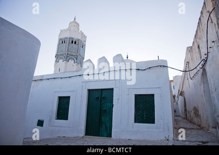 Sidi Bou Makhlouf mosque in El Kef, one of the most underrated tourist destinations in Tunisia - Stock Photo