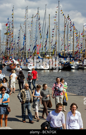 TALL SHIPS RACES St Petersburg Russia July 11 14 2009 - Stock Photo