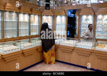 oman jewelry store nizwa - Stock Photo