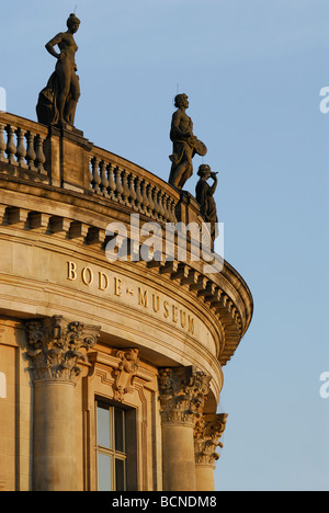 Berlin Germany Bode Museum on Museum Island housing the sculpture collection and Museum of Byzantine Art - Stock Photo