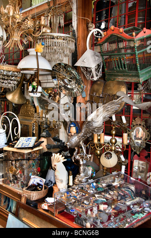 Marche aux puces de saint ouen flea market paris stock photo royalty free image 24890643 alamy - Marche aux puces de saint ouen saint ouen ...