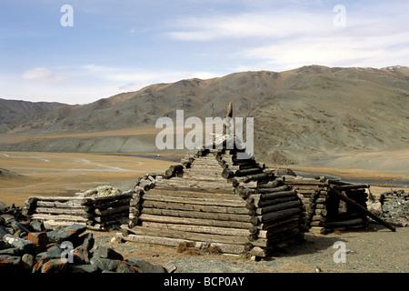 mongolia altai - Stock Photo