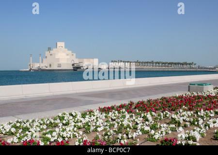 qatar doha museum of islamic art - Stock Photo
