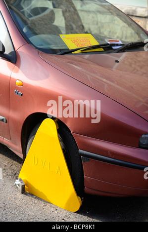 Parking Untaxed Car