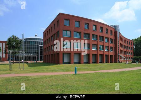 Route der Industriekultur, DASA, Haupteingang der Deutschen Arbeitsschutzausstellung in Dortmund-Dorstfeld, Ruhrgebiet, - Stock Photo