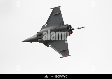 Fairford Airshow Sunday 2009 Dassault Rafale B E/C17 French Air Force - Stock Photo