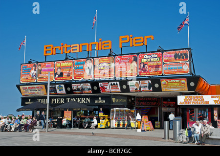 Britannia Pier, Great Yarmouth, Norfolk, UK. - Stock Photo