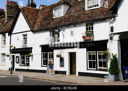 Loch Fyne seafood bar and grill, Trumpington road, Cambridge England UK - Stock Photo