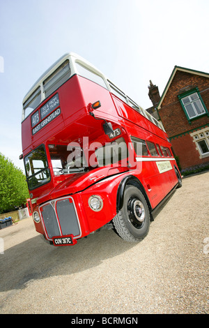 Classic Routemaster London bus - Stock Photo