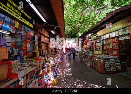 ISTANBUL, TURKEY. The book market at the Beyazit end of the Grand Bazaar (Kapali Carsi). 2009. - Stock Photo
