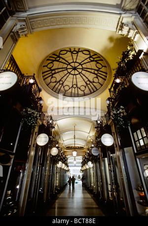 Historic shopping mall, Piccadilly Arcade, London, England, UK, Europe - Stock Photo