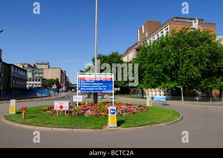 Entrance to Addenbrookes Hospital Cambridge England UK - Stock Photo