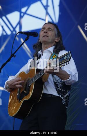 Roger Hodgson, British musician and songwriter, Open Air Festival, Muehldorf am Inn, Bavaria, Germany - Stock Photo