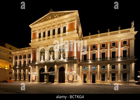 Wiener Musikverein concert hall, Vienna, Austria - Stock Photo