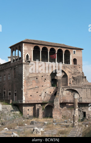 Loggia of the Houses of the Knights of Malta, in Rome - Stock Photo