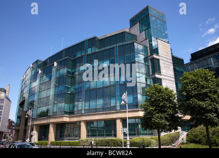 AIB Allied Irish Bank International centre headquarters of AIB Capital Markets in the IFSC dublin city - Stock Photo