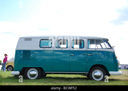 Classic T1 VW bus - Stock Photo