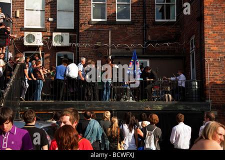 Outside gig - Stock Photo