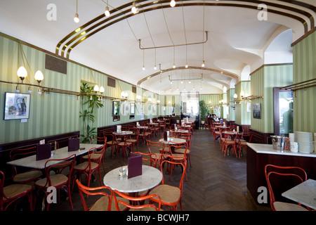 Cafe Museum, Karlsplatz, Vienna , Austria - Stock Photo