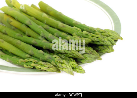 Cooked asparagus - Stock Photo