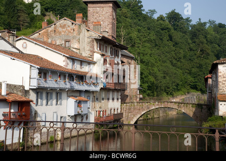 France pyrenees atlantiques basque country bayonne racing cows stock photo royalty free - Hotel saint jean pied de port des pyrenees ...