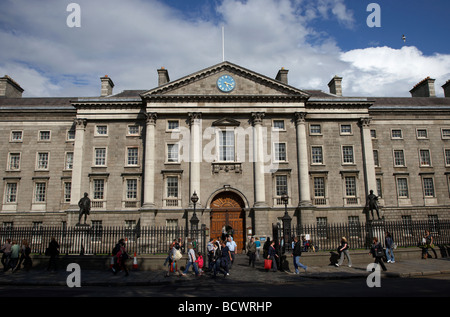 trinity college dublin tcd university dublin city centre republic of ireland - Stock Photo