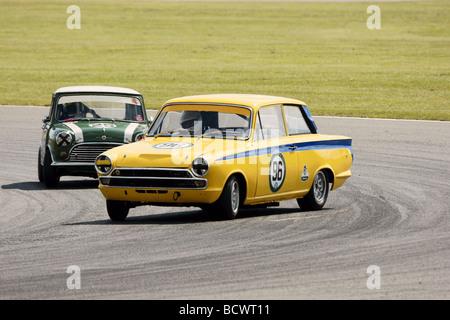 Drifting Lotus Cortina - Stock Photo