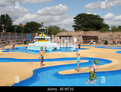 Children In A Paddling Pool At Skegness Lincolnshire England U K Stock Photo Royalty Free