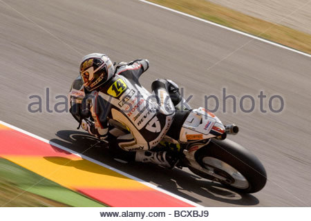 randy de puniet, mugello 2009, italian gp, free practice - Stock Photo