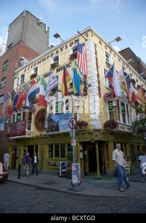 the oliver st john gogarty pub in temple bar dublin republic of ireland - Stock Photo