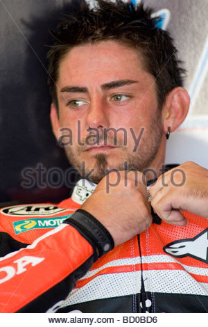 john hopkins, misano 2009. superbike, san marino gp - Stock Photo