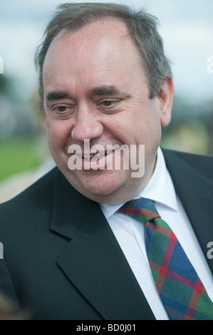 Alex Salmond, Scotland's First Minister at The gathering 2009 - Stock Photo