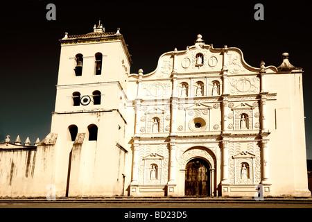 Cathedral of Comayagua, Honduras - Stock Photo
