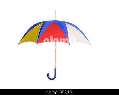 Colourful open Umbrella - Stock Photo