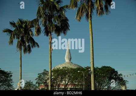 Building of the Royal Regalia Museum in the capital city Bandar Seri Begawan Brunei Asiatisch Asian - Stock Photo