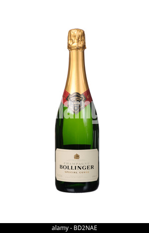 Bollinger 1829 special cuvee Champagne bottle - Stock Photo
