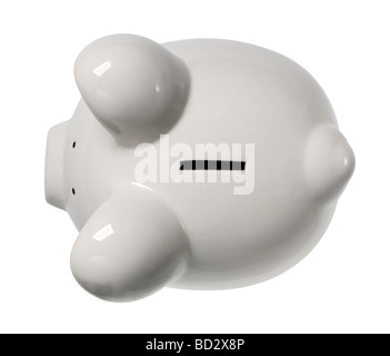 Piggy Bank elevated view - Stock Photo