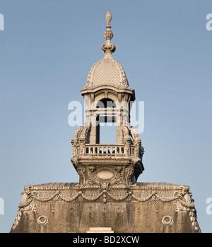 The lantern of the Vichy Town hall roofing (Allier - France). Le lanterneau de l'Hôtel de ville de Vichy (Allier - Stock Photo