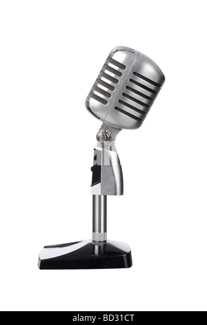 Mic microphone vintage old - Stock Photo
