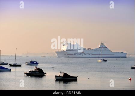 Ferries To Brownsea Island In Winter