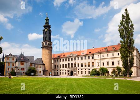 Weimar Palace Schloss, Germany, Europe - UNESCO world heritage site Stock Photo