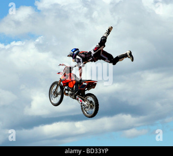 X-games Motorcycle sports in New Zealand - Stock Photo