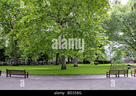 Bunhill Fields Islington London England UK - Stock Photo