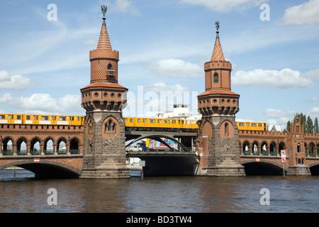 Oberbaumbruecke, Berlin, Germany - Stock Photo
