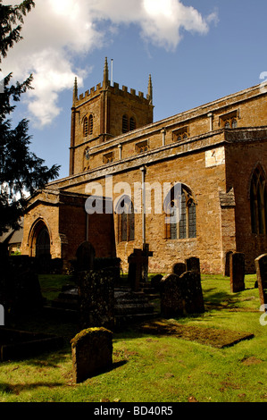 All Saints Church, Wroxton, Oxfordshire, England, UK - Stock Photo