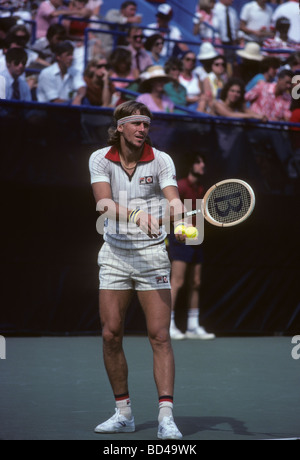 Bjorn Borg SWE at the 1978 US Open Tennis Championships - Stock Photo