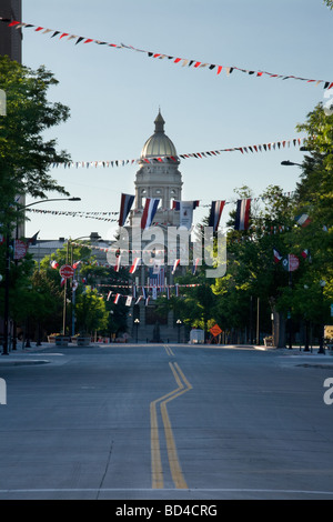 Wyoming State Capitol building in Cheyenne