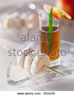 Marzipan Cookies Stock Photo: 37750766